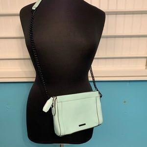 Rebecca Minkoff cross body bag in Mint EUC